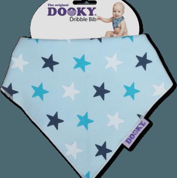 Нагрудник-бандана, Original Dooky, цвет Blue Stars