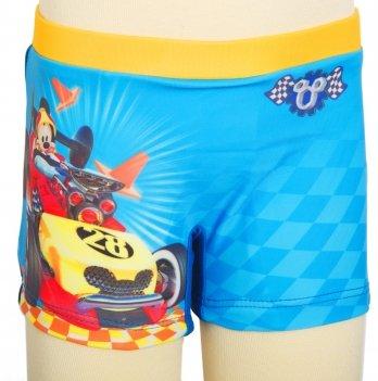 Плавки-боксеры, ARDITEX Микки и веселые гонки (Mickey Roadster Racers) голубые