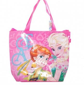 Пляжная сумка, Arditex Холодное сердце (Frozen) розовая, 52x40 см
