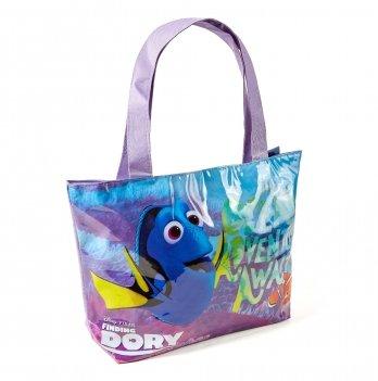 Пляжная сумка, Arditex В поисках Дори (Finding Dory) фиолетовая, 48x32 см