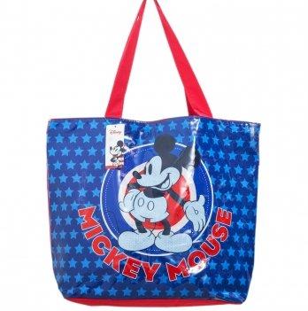 Пляжная сумка, Arditex Микки Маус (Mickey) синяя, 52x40 см