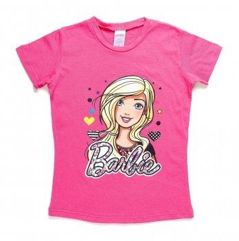 Футболка, ARDITEX Барби (Barbie) розовая
