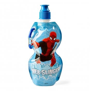 Мягкая бутылка, ARDITEX Человек-паук (Spider-Man) голубая
