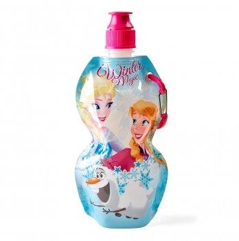Мягкая бутылка, ARDITEX Холодное сердце (Frozen) голубая