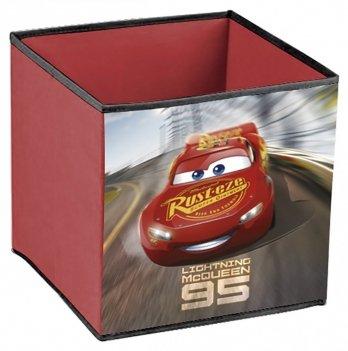 Короб-органайзер для игрушек Arditex Тачки 3, красный