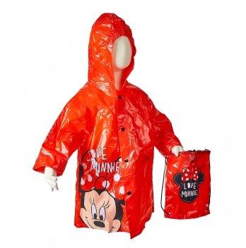 Дождевик Arditex, Minnie Mouse (Минни Маус) красный