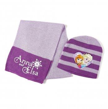 Комплект: шапка и шарф  Arditex, Frozen (Холодное сердце) нежно-розовый