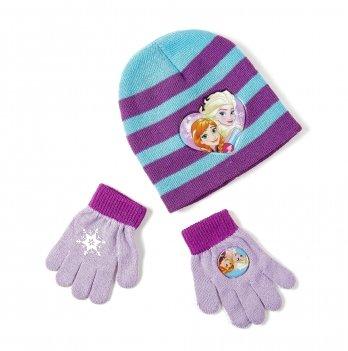 Комплект: шапка и перчатки Arditex, Frozen (Холодное сердце) голубой