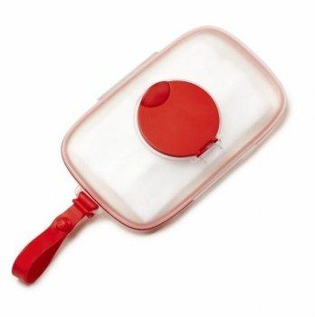 Силиконовый футляр для салфеток Skip Hop красный