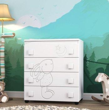 Комод в детскую комнату СидиМ Зайка Dresser Zajka