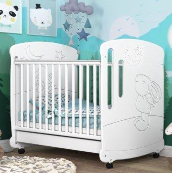 Детская кроватка СидиМ Зайка Baby Cot Zajka