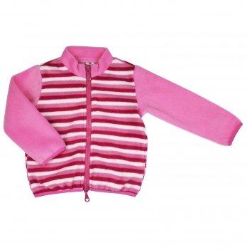 Флисовая кофта на девочку Danaya 2-6 лет Розовый/Красный ЗО20-52