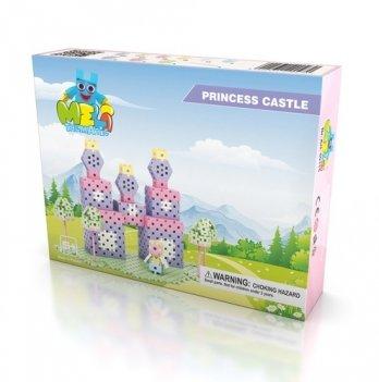 Развивающий 3D конструктор Meli Basic Замок для принцесс