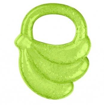"""Прорезыватель охлаждающий гелевый,  BabyOno """"Банан"""" зеленый"""