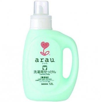 Жидкость для стирки одежды с ароматом герани 1.2 л, Arau
