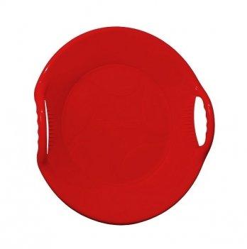 Зимние санки-диск Snower Танірик, красные