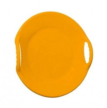 Зимние санки-диск Snower Танірик, оранжевые