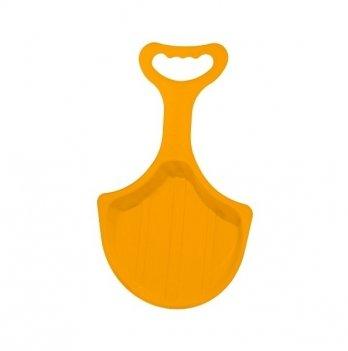 Зимние санки-лопата Snower Рискалик, оранжевые
