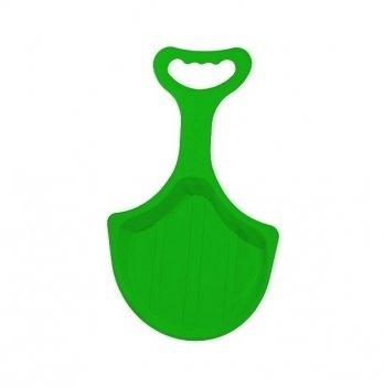 Зимние санки-лопата Snower Рискалик, зеленые