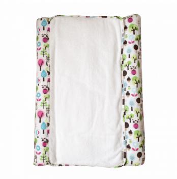Пеленальный матрас Cotton Living Forest Owls Pink (матрас + чехол + пеленка)
