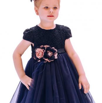 Нарядное платье FERLIONI, FB 7108, синее