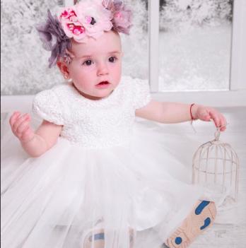 Нарядное платье FERLIONI, FB 7108, белое