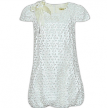 Нарядное платье FERLIONI, F 131 молочно-белое