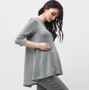 Туника для беременных  Dianora, серая, 1825 1039