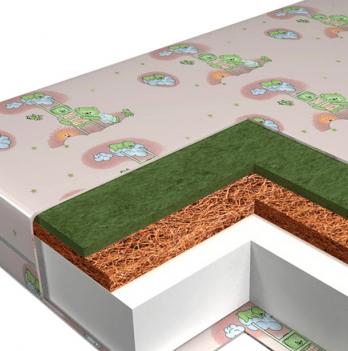 Матрас в детскую кроватку Veres Junior+ 60х120 см