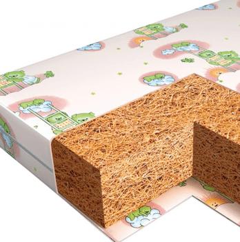 Матрас в детскую кроватку Veres Bicoconut+ 60х120 см