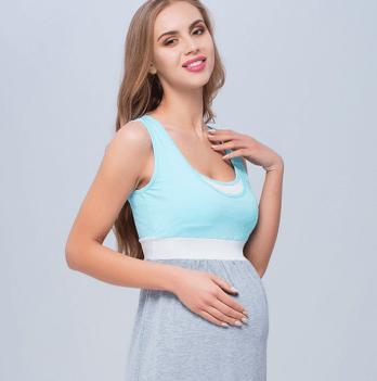 Ночная сорочка для беременных и кормящих, MySecret, ментол