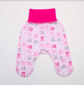 Ползунки Veres Hello Bunny pink