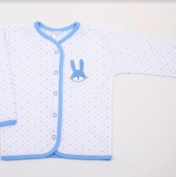 Кофточка Veres Hello Bunny white-blue