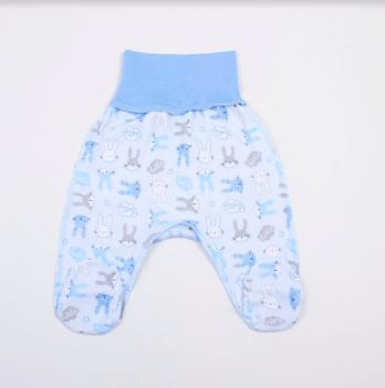 Ползунки Veres Hello Bunny blue интерлок