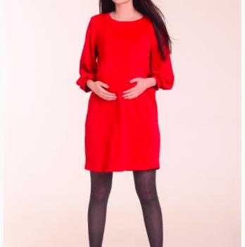 Платье для беременных и кормящих мам White Rabbit VENUS красный