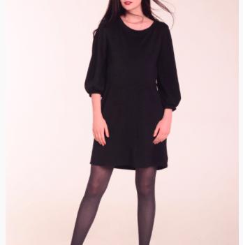 Платье для беременных и кормящих мам White Rabbit VENUS черный