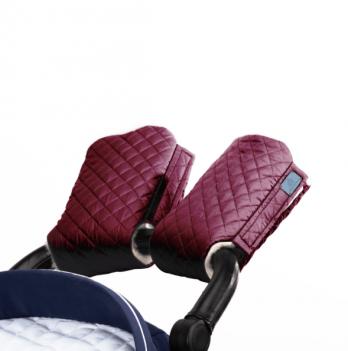 Муфта для рук на коляску Merrygoround Бордовый