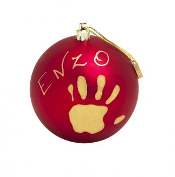 Рождественский шар Baby Art Красный 11 см