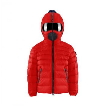 Куртка зимняя с очками Ai-riders, красная