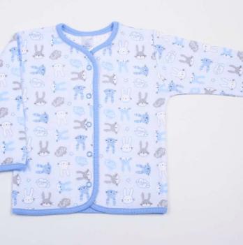 Распашонка Hello Bunny blue Veres