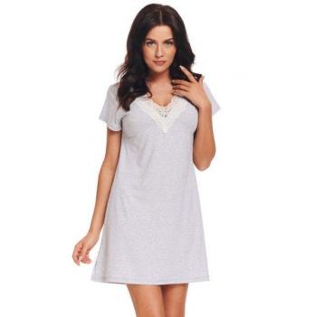 Ночная сорочка женская Dobranocka, TW 9323 grey melange