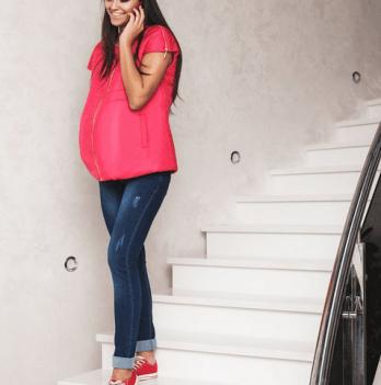 Безрукавка для беременных Dianora малиновая 1522 0690