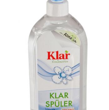Органический ополаскиватель для посудомоечных машин Klar 0,5 л