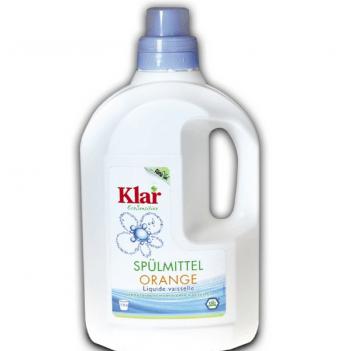 Органическое средство для мытья посуды Klar апельсин 500 мл
