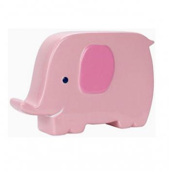 Керамическая копилка Слоник Pearhead 97150 розовый