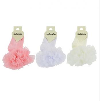 Носки нарядные Katamino K22098 молочные