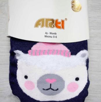 Колготки махровые Arti 350064 Мишка в шапке