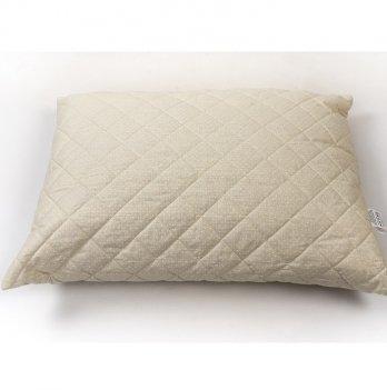 Подушка конопляная сатин ТМ Sasha Молочный 2505070 50х70 см