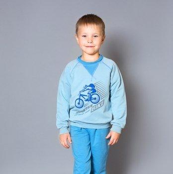 Джемпер для мальчика Модный карапуз, Mountain bike, синий