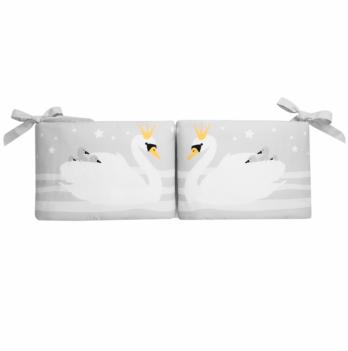 Защита для кроватки Cotton Living White Swan